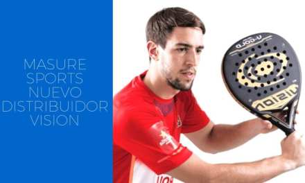 Masure Sports asume la distribución de Vision