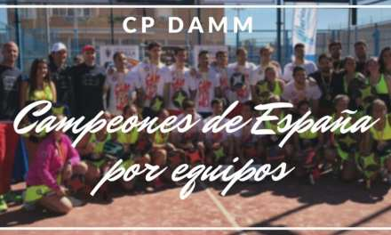 El CP Damm campeón de españa por equipos en categoría masculina y femenina