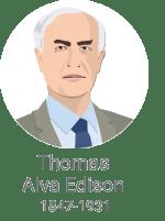 Thomas Alva Edison / Porabimanj INFO / Ilustracija: Branko Baćović