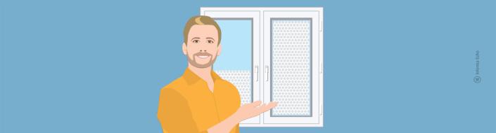 Mehurčasta folija: Kako zmanjšati toplotne izgube na oknih / Porabimanj INFO / Risba: Branko Baćović