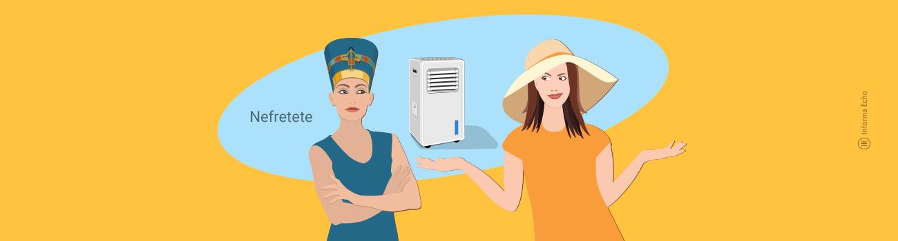 Evaporativna hladilna naprava - prednosti in slabosti / Porabimanj INFO - Illustracija: Branko Baćović