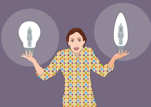Halogenske žarnice se umikajo s trga / PorabimanjINFO / Ilustracija: Branko Baćović