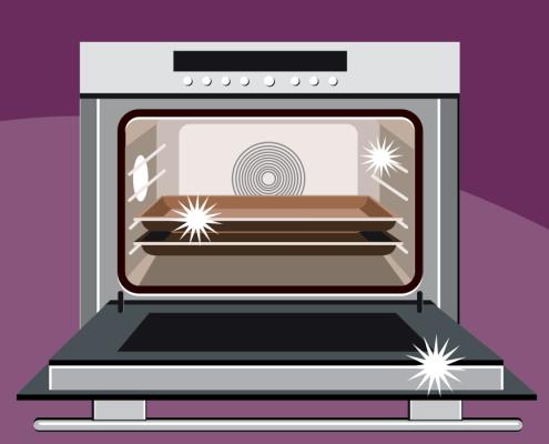 Čiščenje pečice / Porabimanj INFO