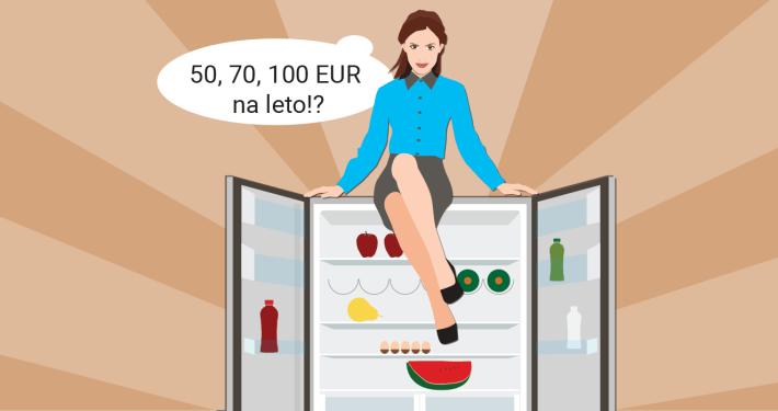 Kako izračunamo strošek porabe električne energije? / PorabimanjINFO / Ilustracija: Branko Baćović