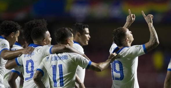 Brasil arrancó ganando en la Copa América 2019