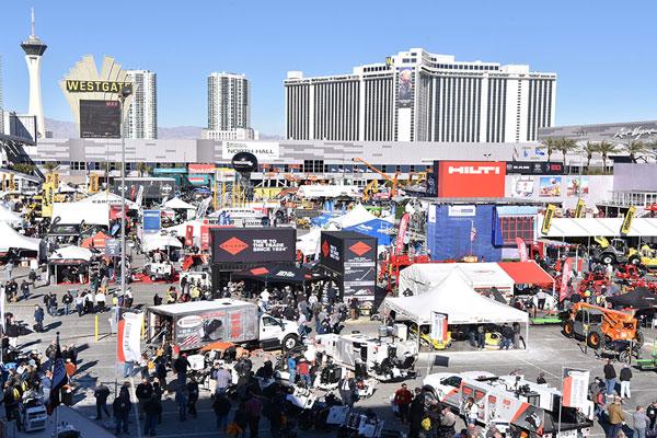 Poraver booth WOC 2020 Las Vegas