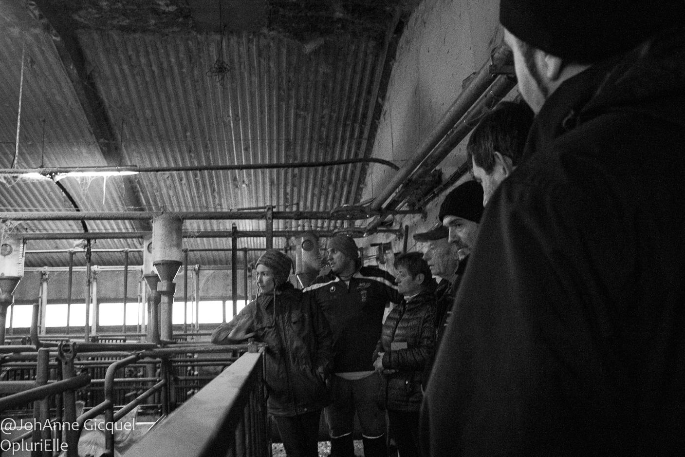 visite de la ferme du Gros Chêne