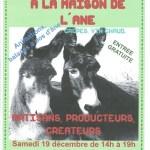 Marché de Noel 2015 à LA MAISON DE L'ANE 001