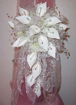 Porcelain Wedding Flowers