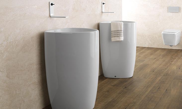 Free standing sinks  Bathroom Sinks  Bath  PORCELANOSA