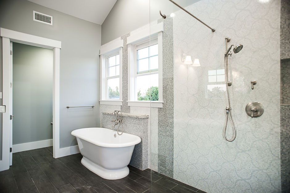 metallic kitchen wall tiles replacing cabinet doors belmont residence, ca | porcelanosa