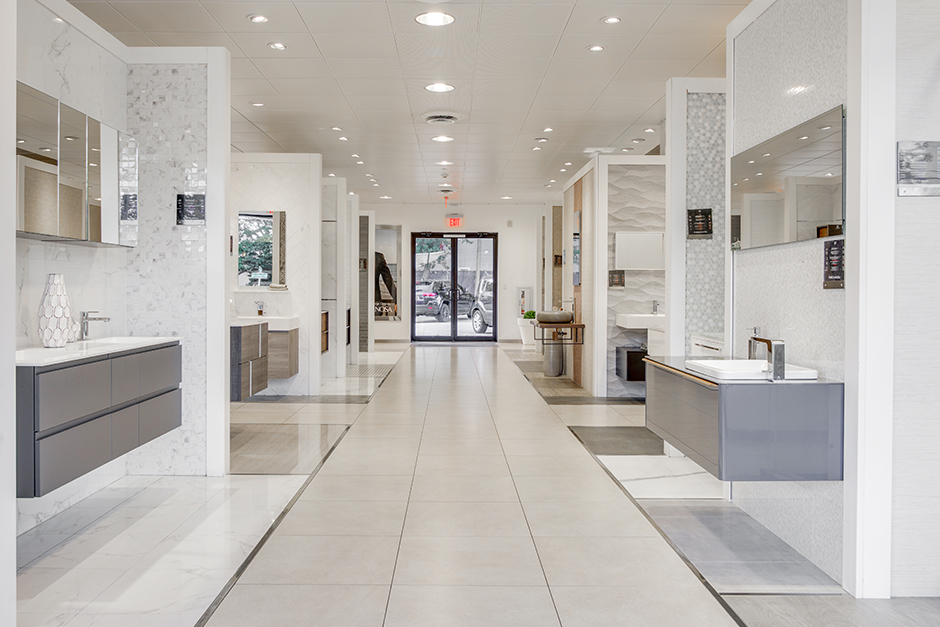 westbury showroom porcelanosa