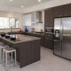 Kitchen Remodel San Jose Wooden Trash Bin For Private Residence Remodel, Ca   Porcelanosa