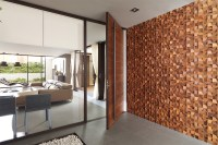 Modern Mosaic Tile Entryway | Indoor and Outdoor Entryways ...