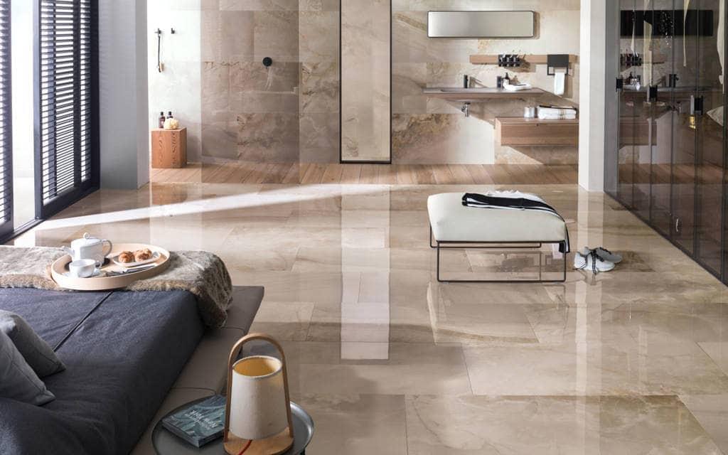 carrelage sol imitation marbre effet