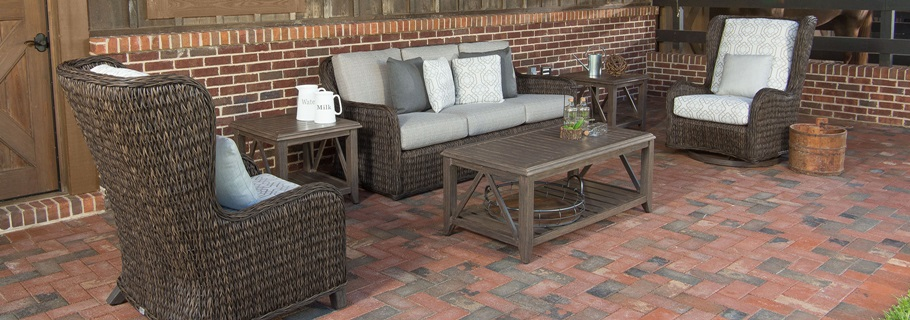 glider chair and ottoman replacement cushions office seat ebel belfort collection / porch patio