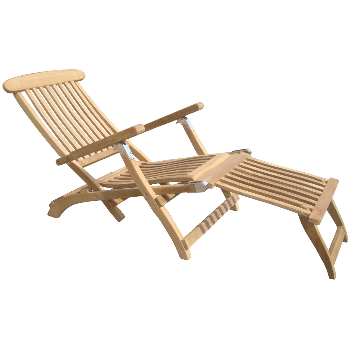 teak steamer chair how to make folding covers royal