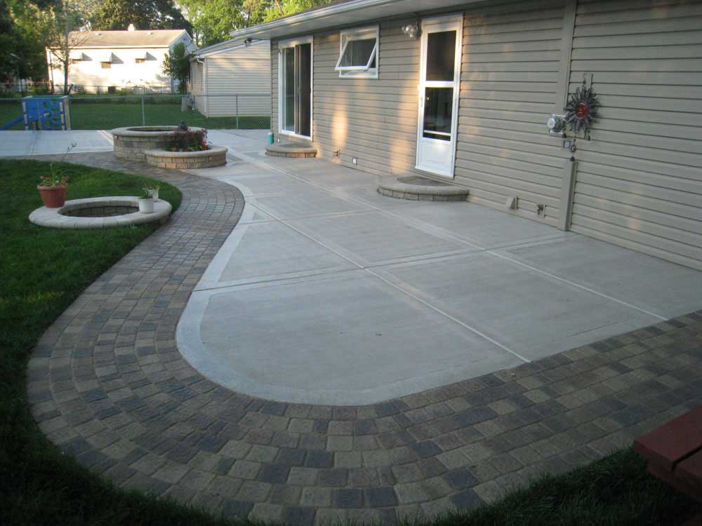 how to clean concrete patio tips from