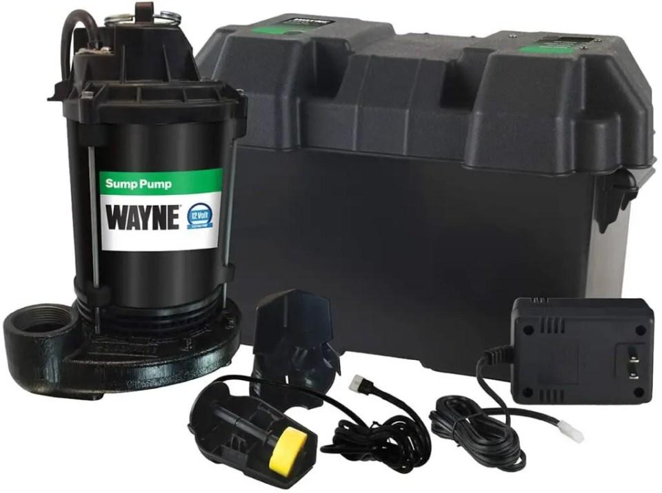 best battery powered backup sump pump