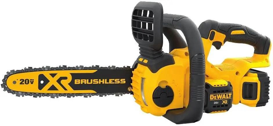 best electric chainsaws dewalt