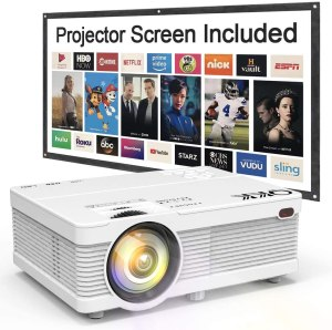 best iphone projector with screen