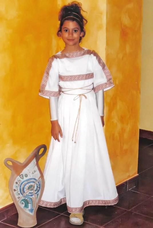 Disfrazada de romana