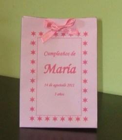 Bolsa de regalo rosa
