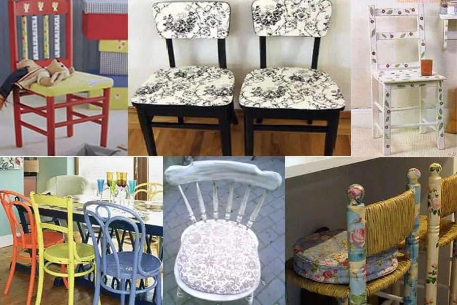 6 ideas para rehabilitar sillas viejas  Por Cuatro Cuartos