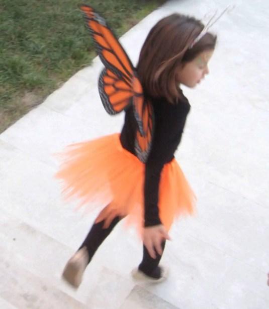 disfraz para niña de mariposa monarca