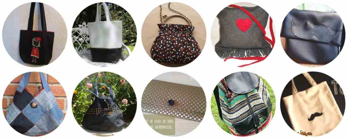 10 Tutoriales fáciles para coser bolsos