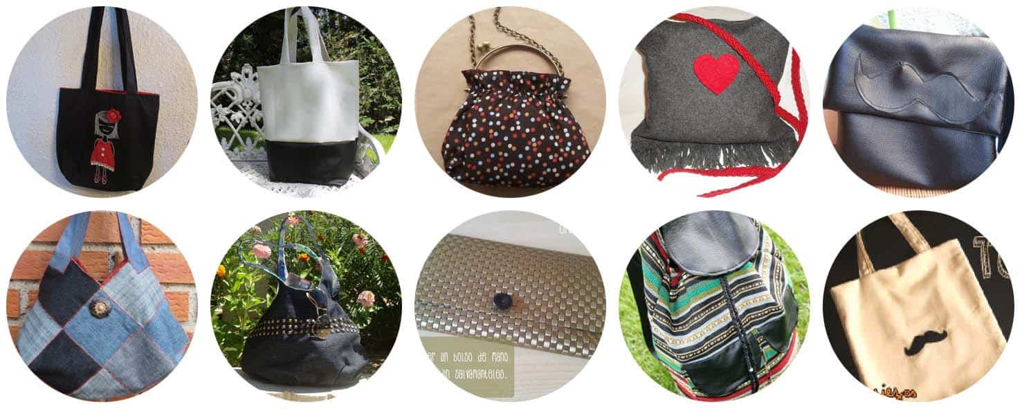 10 Modelos de bolsos fáciles