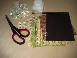materiales necesarios para hacer imanes para la nevera