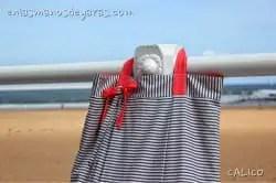 Bolsa playa reversible