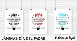 laminas imprimibles para el dia del padre