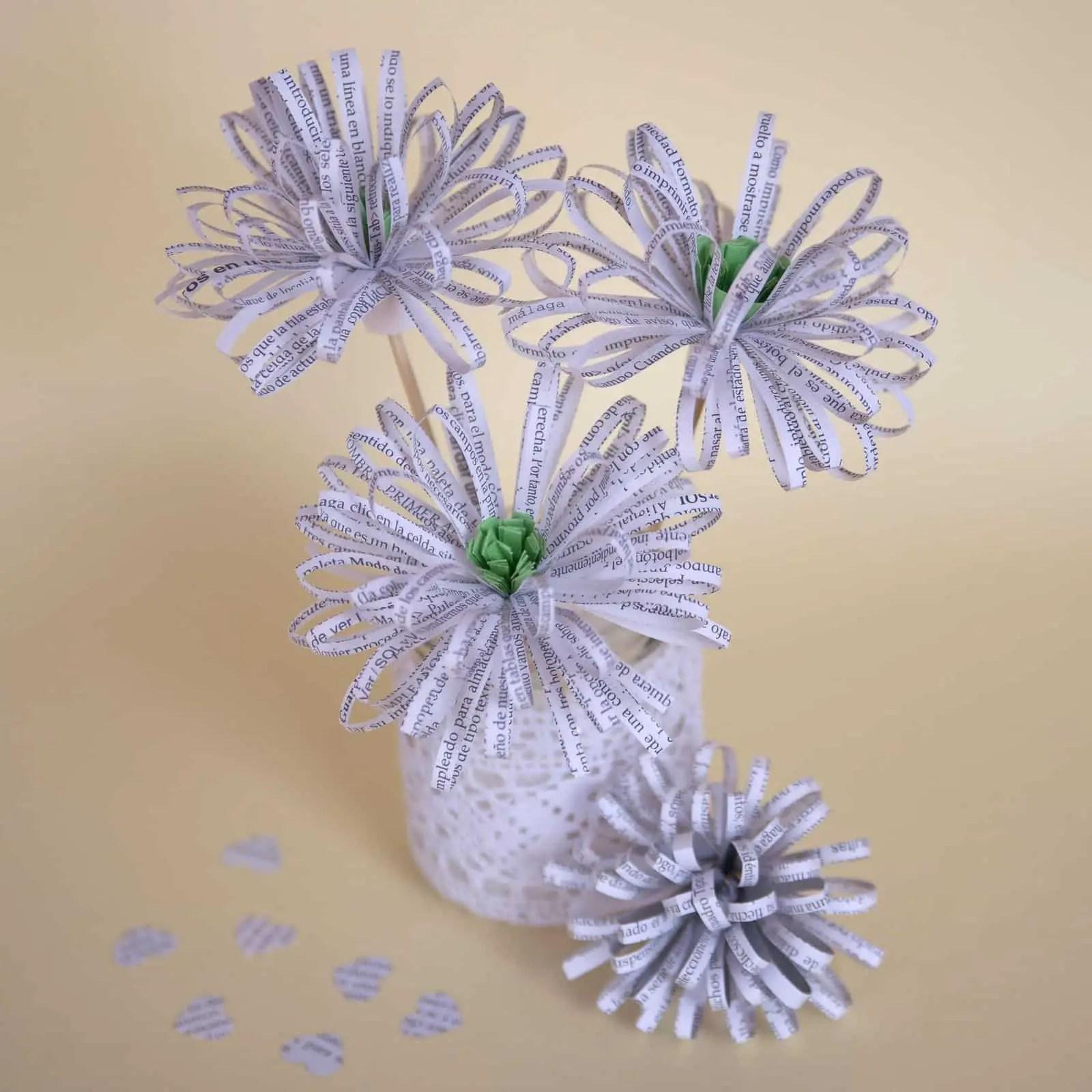 flores de papel Archivos Por cuatro cuartos