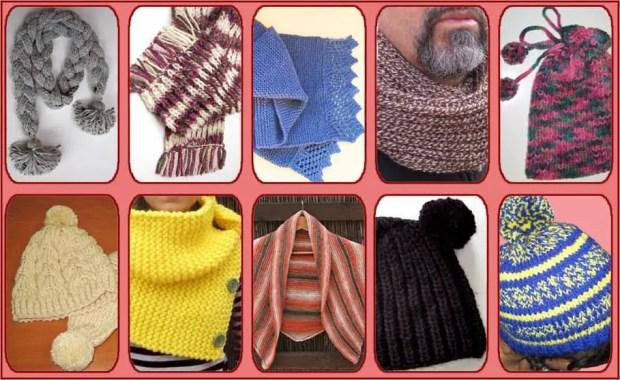 Gorros, cuellos y bufandas de punto