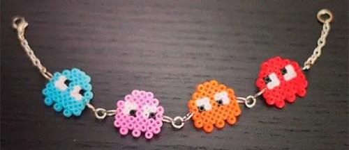 pulsera-pac-man-hama-beads