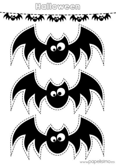 15 imprimibles de guirnaldas para Halloween que puedes descargar gratis