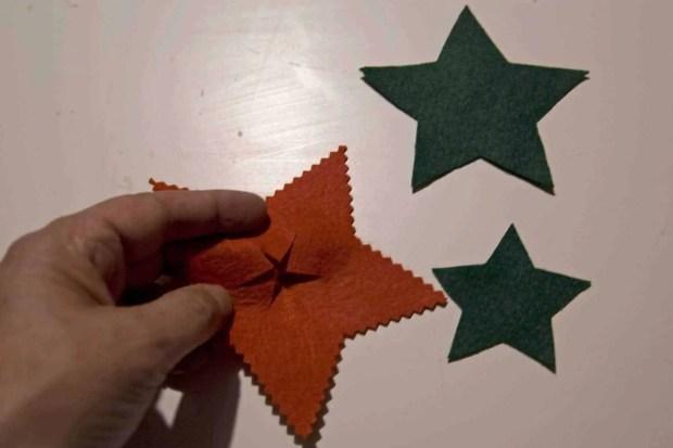 Estrella de fieltro