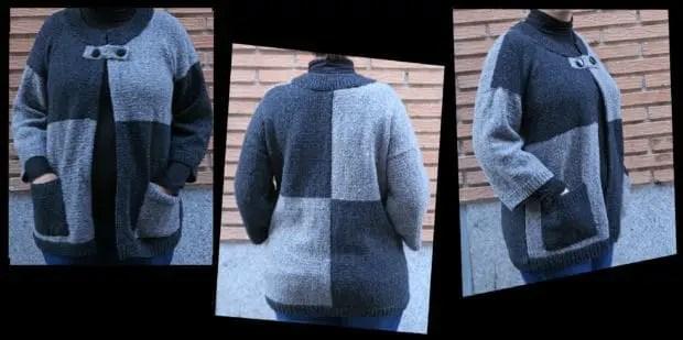 Como hacer chaqueta de punto de lana