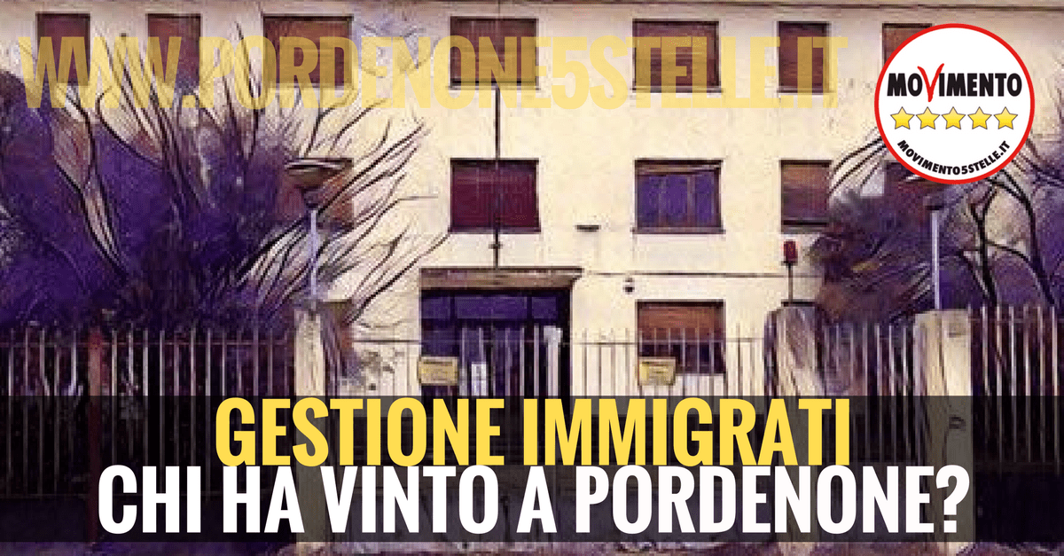 You are currently viewing GESTIONE IMMIGRATI, CHI HA VINTO A PORDENONE?