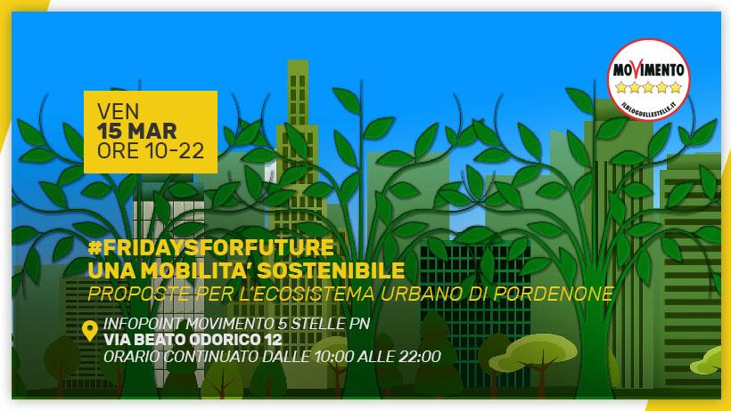 #fridaysforfuture – Proposte per una mobilità sostenibile
