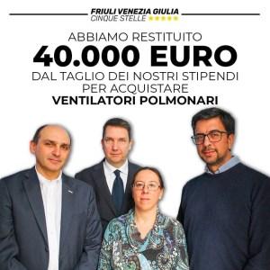 Read more about the article 40.000€ del taglio dei nostri stipendi per acquistare ventilatori polmonari