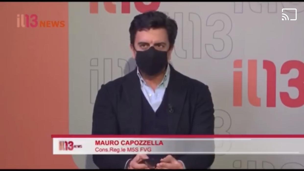 """You are currently viewing Capozzella M5S inchioda Ciriani: """"faccio un plauso al sindaco di Pordenone"""""""