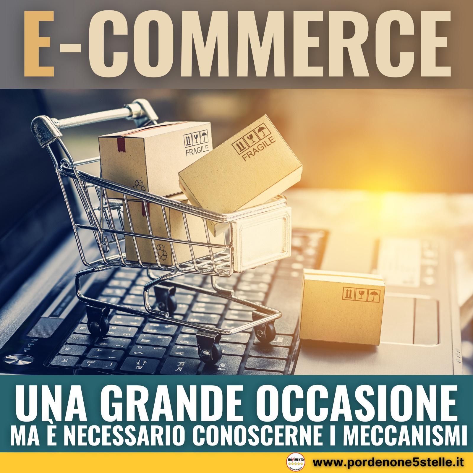 Read more about the article E-COMMERCE: Una grande occasione, ma è necessario conoscerne i meccanismi.