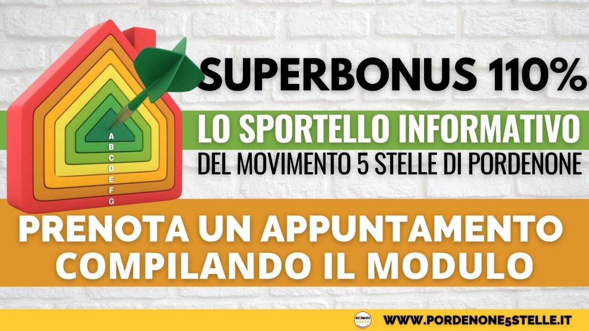 LO SPORTELLO INFORMATIVO M5S PN SUL SUPERBONUS 1