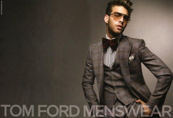 Tom Ford Menswear Ad Campaign - Por Homme Men' Lifestyle Fashion And Culture Magazine