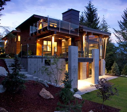 The Compass Pointe House In Whistler Canada Por Homme Contemporary Mens Lifestyle Magazine