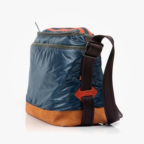 Property of... Tokyo Guy Blue Messenger Bag