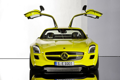 The High Voltage Gullwing: Mercedes-Benz SLS AMG E-CELL